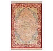 Link to 105cm x 145cm Qom Persian Rug