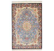 Link to 3' 3 x 4' 11 Qom Persian Rug
