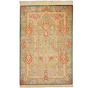 Link to 3' 3 x 4' 10 Qom Persian Rug