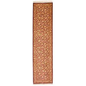 2' 6 x 9' 10 Qom Persian Runner Rug