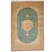 Link to 4' 7 x 6' 8 Qom Persian Rug