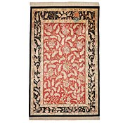 Link to 4' 3 x 6' 6 Qom Persian Rug