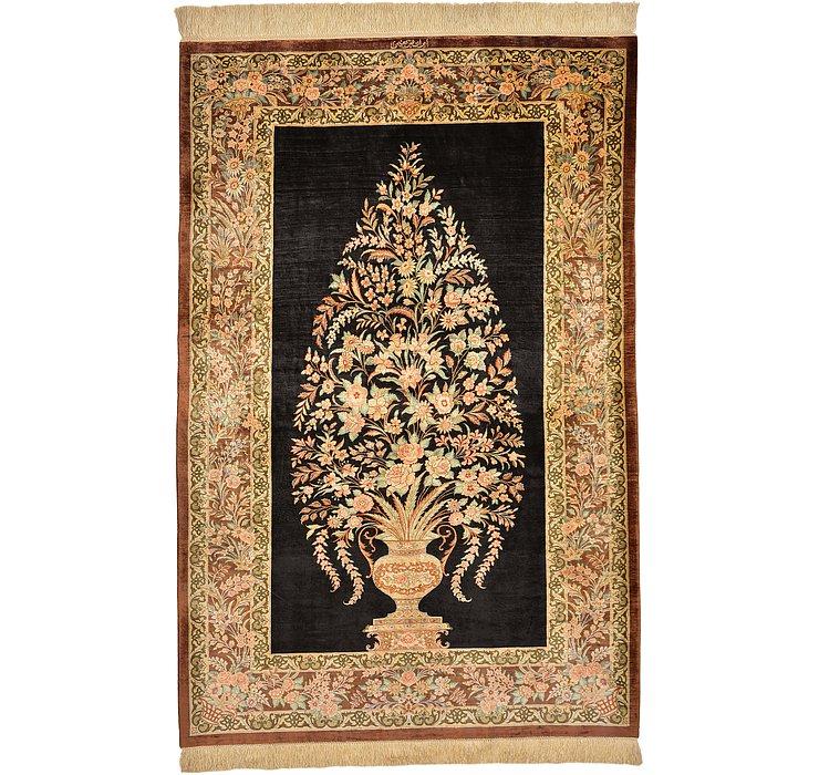 3' 3 x 5' Qom Persian Rug