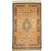 Link to 3' 3 x 5' 1 Qom Persian Rug