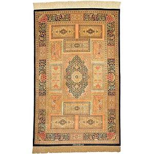 3' 3 x 5' 1 Qom Persian Rug