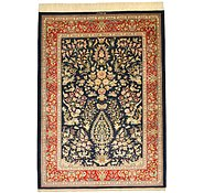 Link to 4' 6 x 6' 2 Qom Persian Rug
