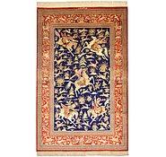 Link to 127cm x 198cm Qom Persian Rug