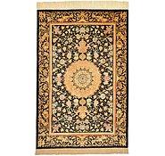 Link to 100cm x 150cm Qom Persian Rug