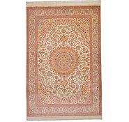 Link to 4' 5 x 6' 7 Qom Persian Rug