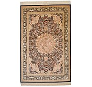 Link to 4' 4 x 6' 6 Qom Persian Rug