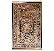 Link to 4' 4 x 6' 8 Qom Persian Rug