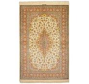 Link to 5' 2 x 7' 9 Qom Persian Rug