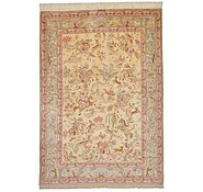 Link to 4' 6 x 6' 4 Qom Persian Rug