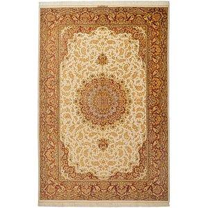 5' 3 x 7' 11 Qom Persian Rug