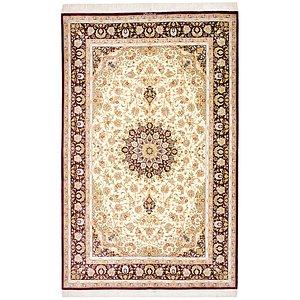 5' 2 x 8' 2 Qom Persian Rug
