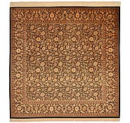 Link to 6' 6 x 6' 6 Qom Persian Square Rug