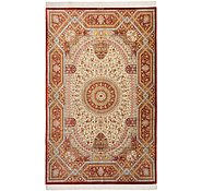 Link to 5' 1 x 8' 1 Qom Persian Rug