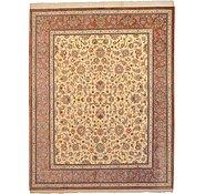 Link to 6' 6 x 8' 1 Qom Persian Rug