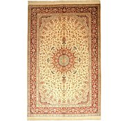 Link to 6' 5 x 9' 11 Qom Persian Rug