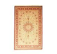 Link to 6' 7 x 9' 10 Qom Persian Rug