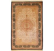 Link to 6' 6 x 9' 11 Qom Persian Rug
