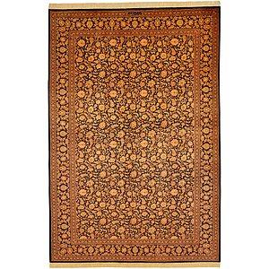 6' 7 x 9' 9 Qom Persian Rug