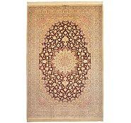 Link to 6' 5 x 9' 9 Qom Persian Rug
