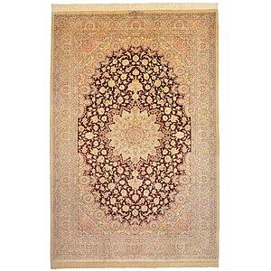 6' 5 x 9' 9 Qom Persian Rug