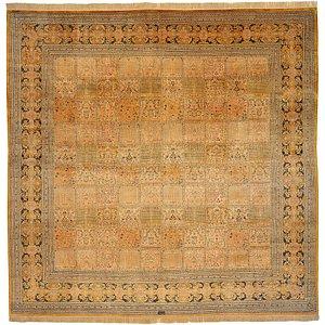 10' 2 x 10' 4 Qom Persian Square Rug