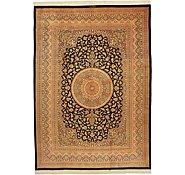 Link to 8' 2 x 11' 4 Qom Persian Rug