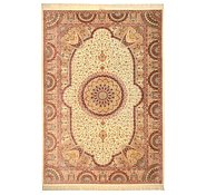 Link to 7' 11 x 11' 5 Qom Persian Rug