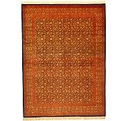 Link to 9' 10 x 13' Qom Persian Rug
