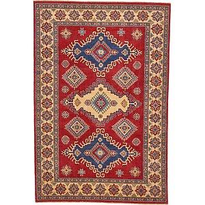 Unique Loom 6' 7 x 9' 7 Kazak Oriental Rug
