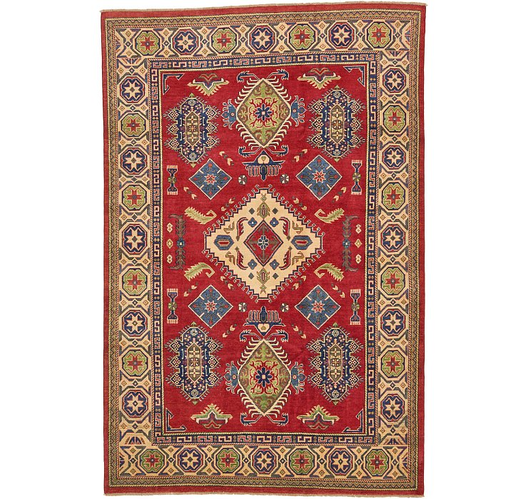 6' 7 x 10' Kazak Oriental Rug