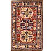 Link to 4' 8 x 7' 3 Kazak Oriental Rug
