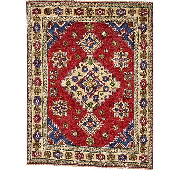5' x 6' 4 Kazak Oriental Rug