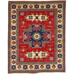 4' 10 x 6' Kazak Oriental Rug