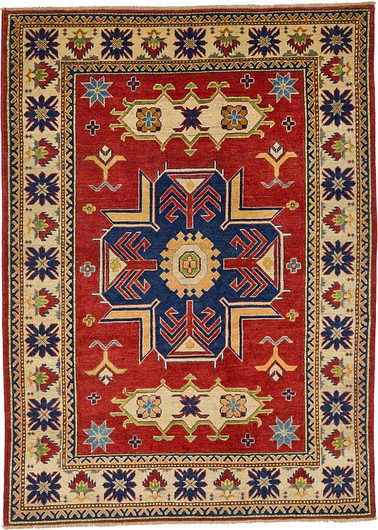 Red 5 X 6 10 Kazak Oriental Rug Oriental Rugs Esalerugs