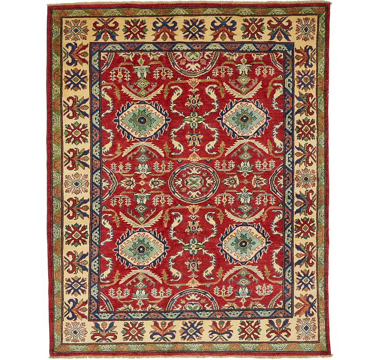 5' 2 x 6' 6 Kazak Oriental Rug