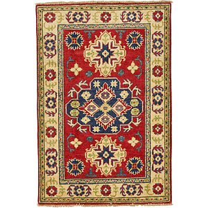 3×5 Brown Kazak  Rugs