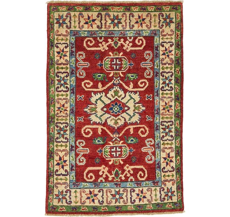 HandKnotted 2' 7 x 4' Kazak Oriental Rug