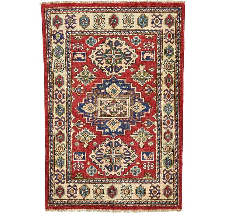 85cm x 127cm Kazak Oriental Rug