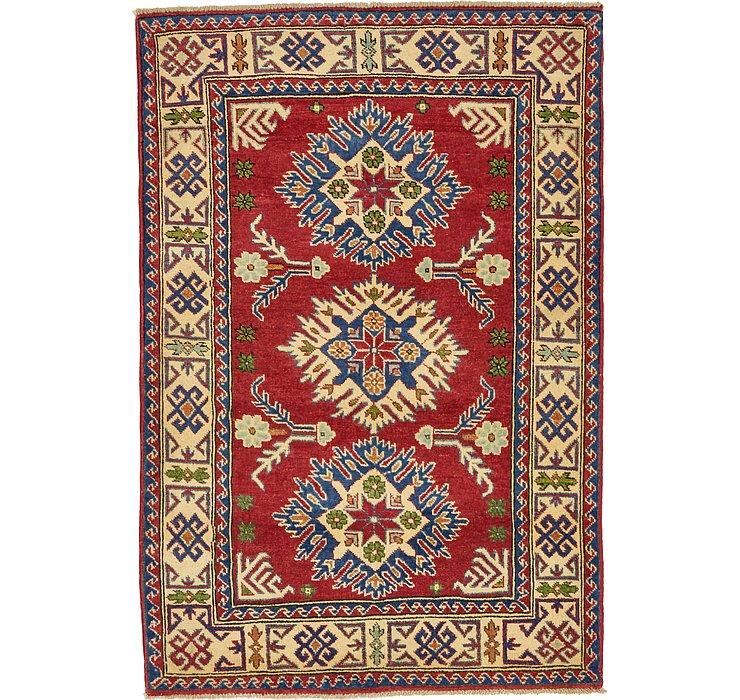 102cm x 147cm Kazak Oriental Rug