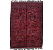 Link to Unique Loom 3' 6 x 5' Khal Mohammadi Oriental Rug