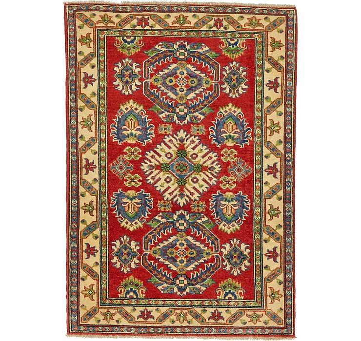 HandKnotted 3' 4 x 4' 9 Kazak Oriental Rug