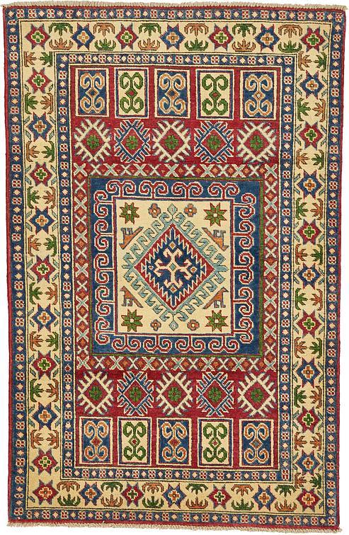 Red 3 3 X 5 Kazak Oriental Rug Oriental Rugs Esalerugs