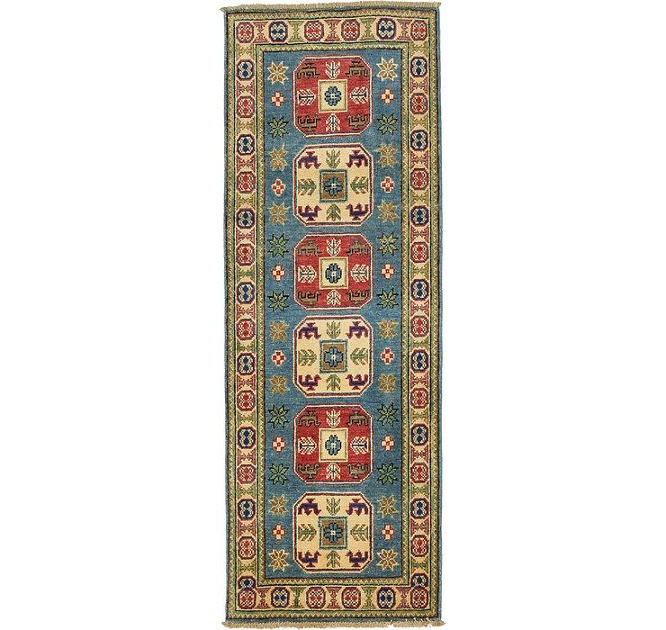 2' x 5' 7 Kazak Oriental Runner Rug