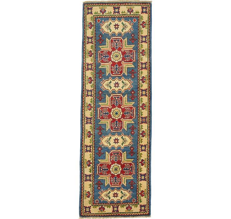 2' x 6' Kazak Oriental Runner Rug