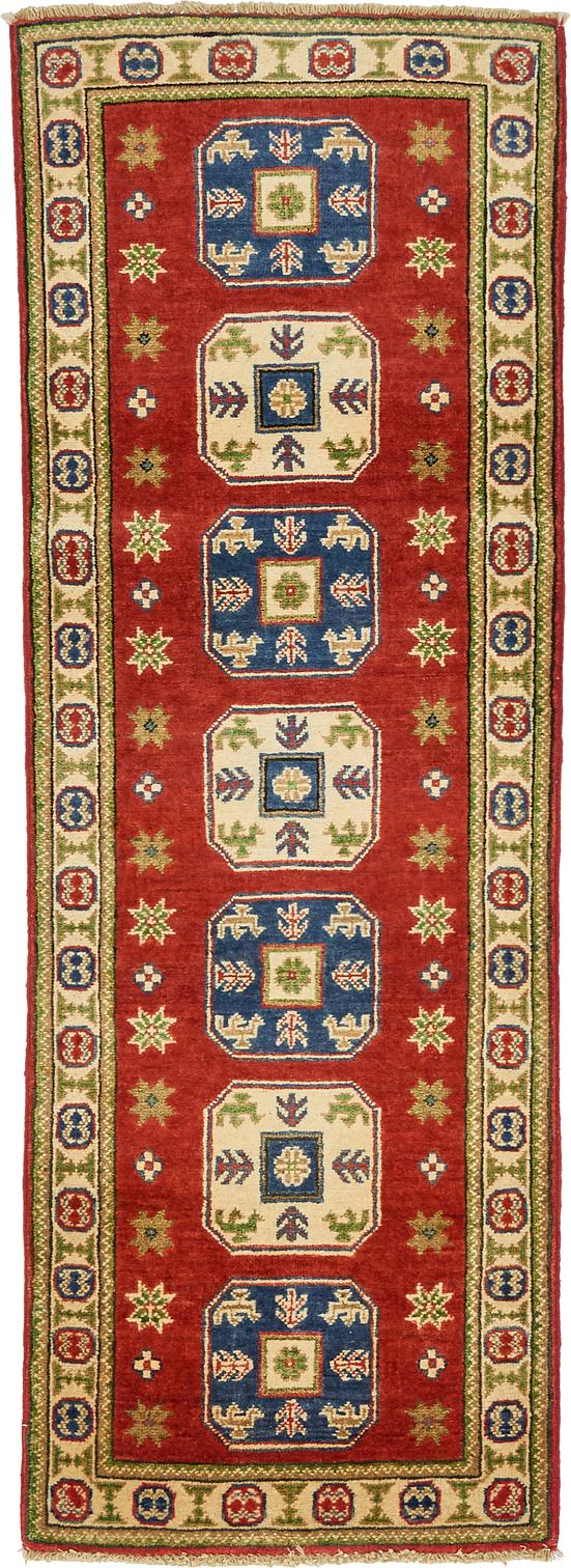 Red 2 X 5 8 Kazak Oriental Runner Rug Area Rugs Irugs Uk