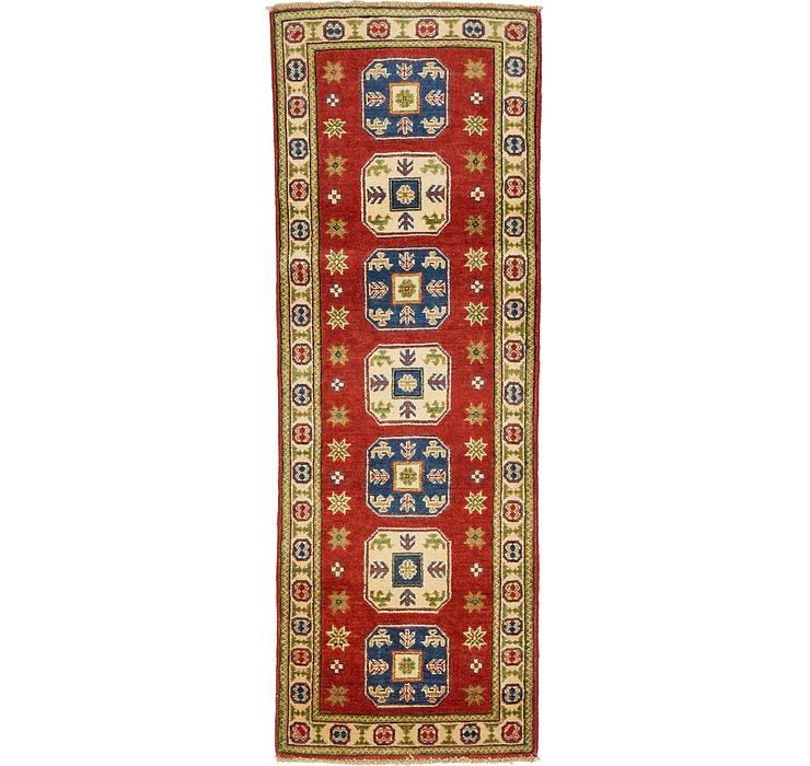 2' x 5' 8 Kazak Oriental Runner Rug